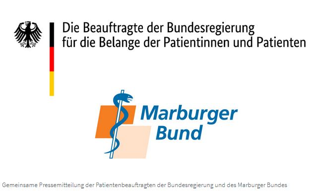 zeigt das logo vom Marburger Bund