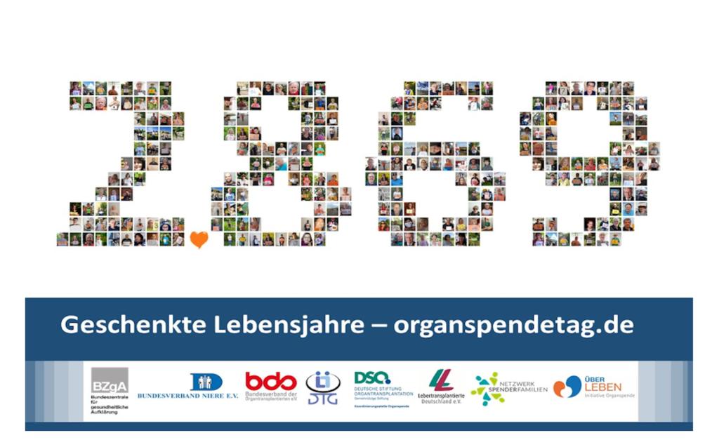 Abbildung Logo Organspendetag