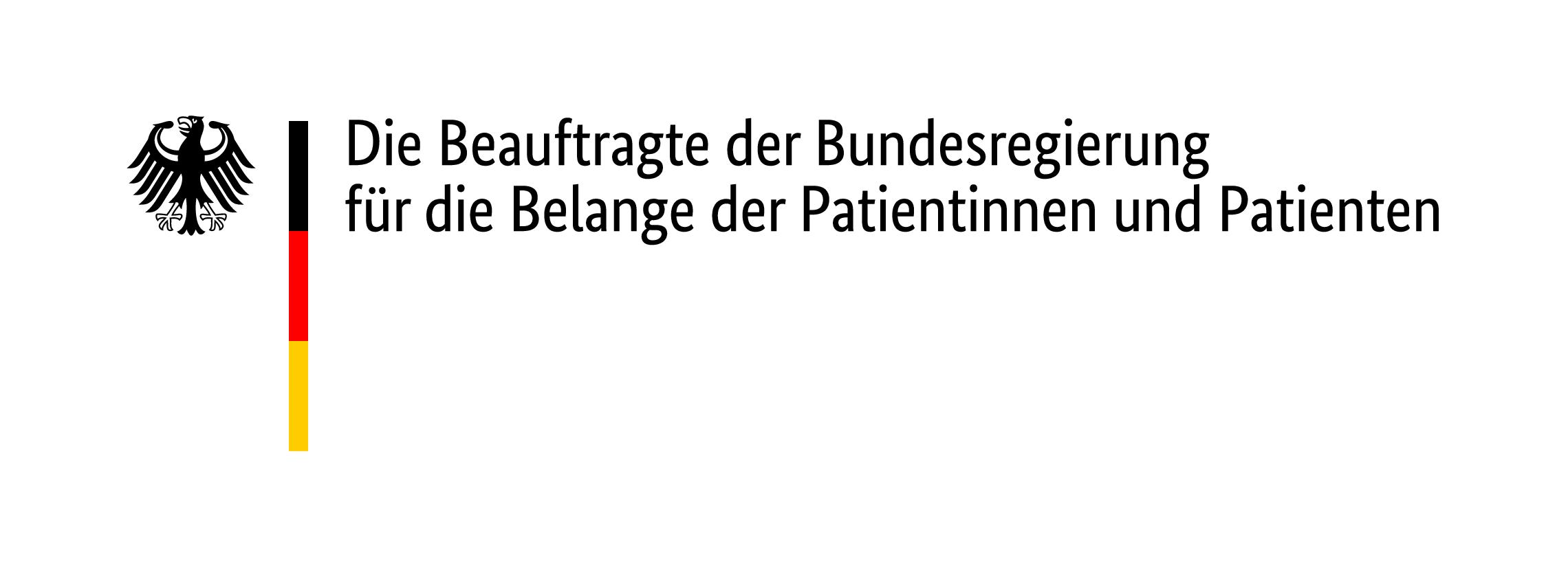 Logo der Patientenbeauftragten der Bundesregierung